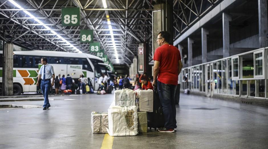 Partindo de São Paulo, é possível comprar passagens para 1.477 cidades diferentes, sem contar os municípios da região metropolitana (Foto: Estadão Conteúdo)