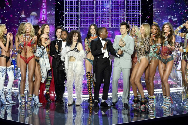 Desfile da Victoria's Secret em Xangai (Foto: Getty Images)