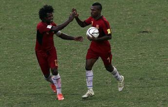 No encerramento da segunda fase, Papua-Nova Guiné goleia por 8 a 0