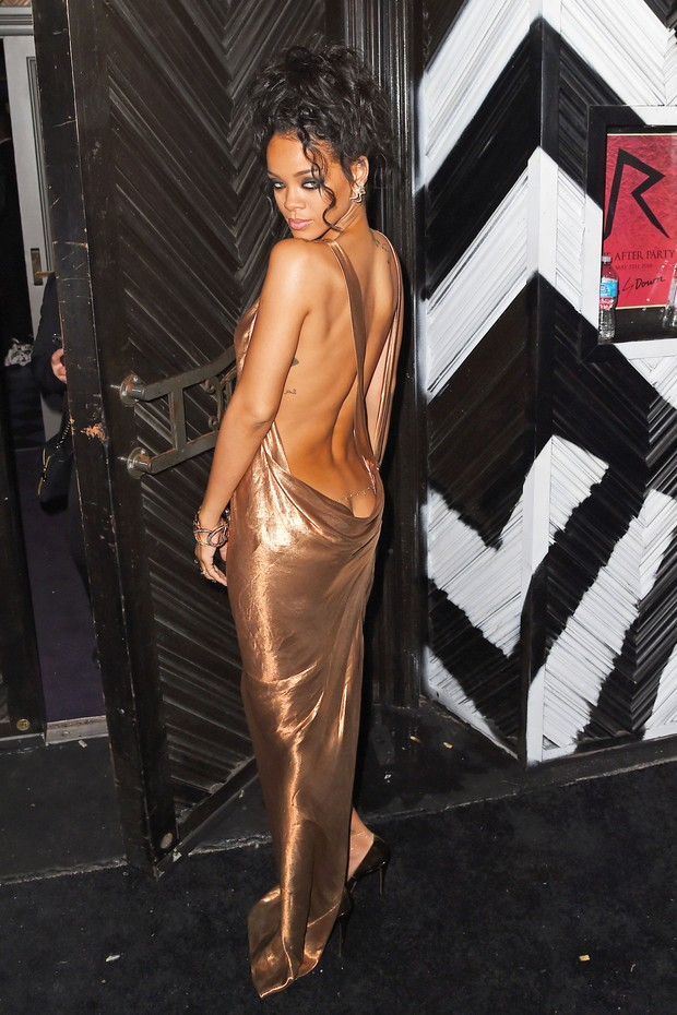 Rihanna na festa pos MET BAll (Foto: AKM-GSI / AKM-GSI)