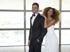 Veja os looks de Tais Araújo e Cauã Reymond para o 'Globo de Ouro'