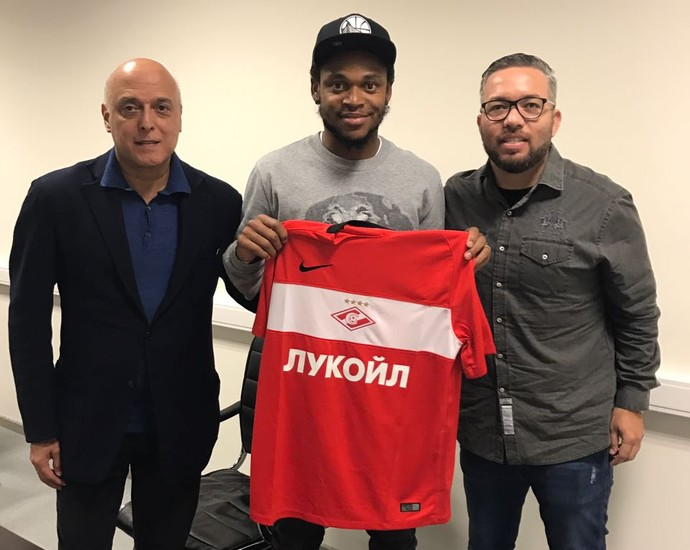 Luiz Adriano camisa Spartak Moscou (Foto: Divulgação)
