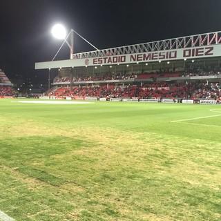 Estádio Nemesio Diez - Toluca x Grêmio (Foto: Eduardo Moura/GloboEsporte.com)