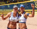 Juliana supera susto e comanda título invicto com Taiana na etapa curitibana