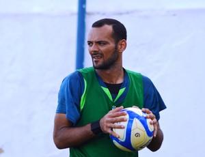 Goeiro Fábio foi campeão pelo Confiança em 2002 (Foto: Felipe Martins/GLOBOESPORTE.COM)