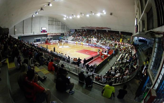 Ginásio Tijuca Tenis Clube - Flamengo x Bauru - Basquete NBB (Foto: Gilvan Souza)