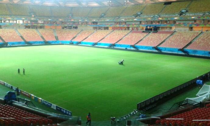 Gramado Arena Amazonia (Foto: Divulgação)