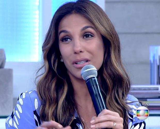 Ivete Sangalo quer fazer uma farra para comemorar a nova vida dos amigos (Foto: TV Globo)