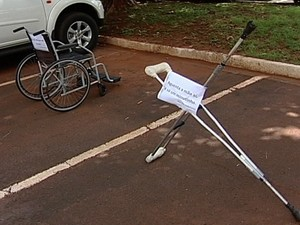 Acessibilidade Uberaba (Foto: Reprodução/TV Integração)