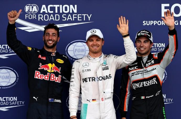 Três primeiros treino classificatório GP da Europa, em Baku
