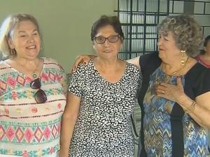 Irmãs foram separadas há 70 anos (Foto: Reprodução/TV TEM)