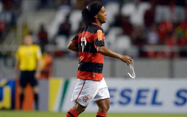 Ronaldinho gaucho flamengo internacional brasileiro 2012 (Foto: Alexandre Loureiro / Vipcomm)