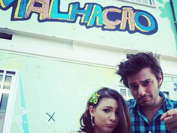 Hugo e Lais foram o casal Micaela e Martin na última temporada de Malhação (Foto: Arquivo Pessoal)