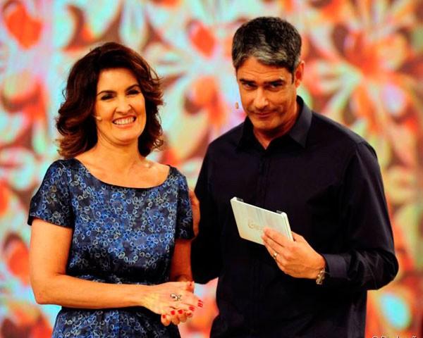 Fátima Bernardes e William Bonner anunciam separação (Foto: TV Globo Divulgação)
