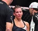 """Dana revela discussão com Miesha no UFC 205: """"Não queria ir ao hospital"""""""