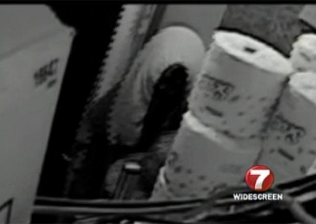 Ladrão usou cueca como máscara durante assalto. (Foto: Reprodução)