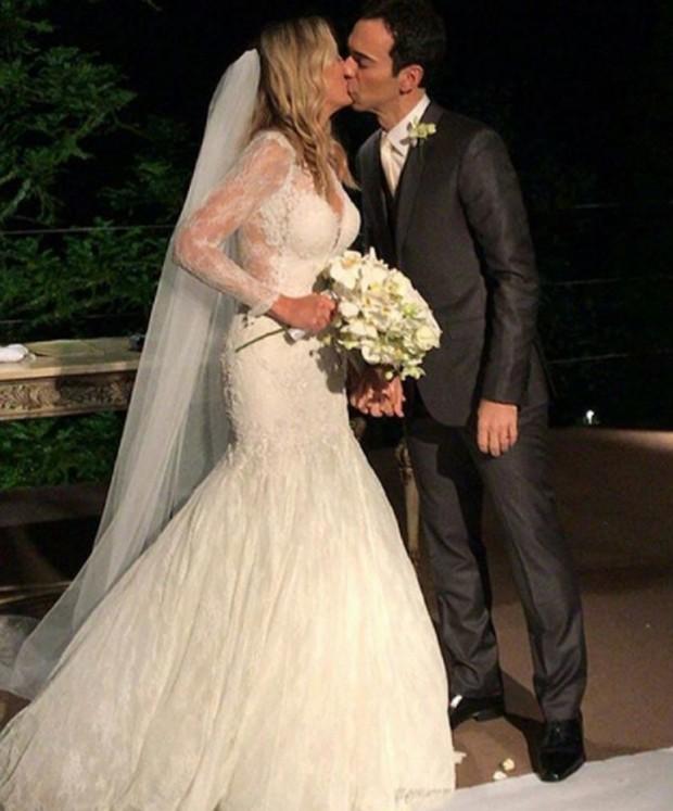 Ticiane Pinheiro e César Tralli se casam em Campos do Jordão (Foto: Reprodução/Instagram)