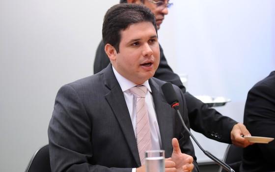 O presidente da CPI da Petrobras, Hugo Motta (Foto: Lucio Bernardo Jr. / Câmara dos Deputados)