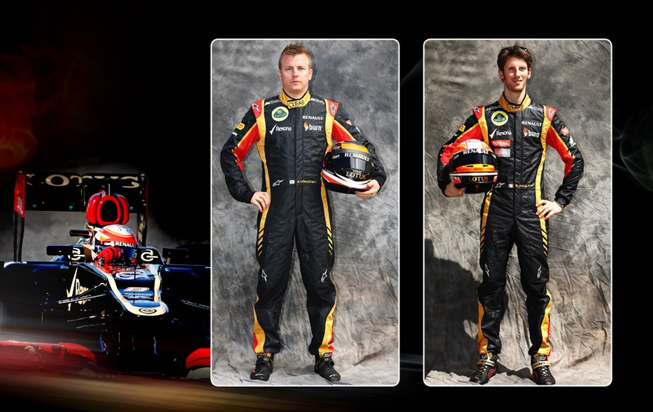 12af4c5fd3 Veja os macacões e capacetes dos pilotos da Fórmula 1 em 2013 - fotos em fórmula  1