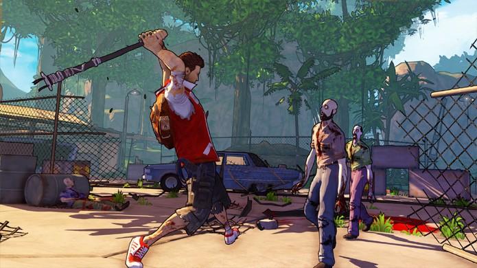 O combate é ainda mais difícil do que em Dead Island (Foto: GameSpot)