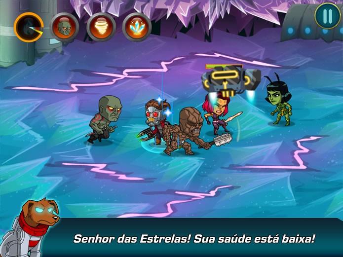 O jogador deverá utilizar ataques especiais e combos para vencer os inimigos e chefões que aparecerem tanto no modo Campanha quanto na modalidade Arena (Foto: Reprodução/Daniel Ribeiro)