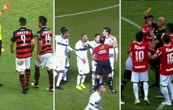 Sinal vermelho: clubes goianos têm jogadores expulsos na terceira rodada