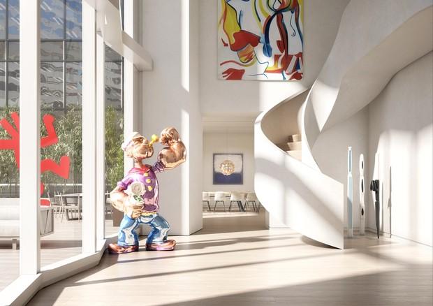 Por dentro dos apartamentos do novo edifício de George e Amal Clooney (Foto: Reprodução)