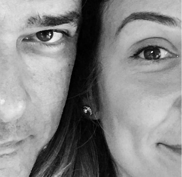 William Bonner e Natasha Dantas (Foto: Reprodução/Instagram)