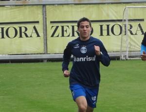Bertoglio treino Grêmio (Foto: Tomás Hammes / GLOBOESPORTE.COM)