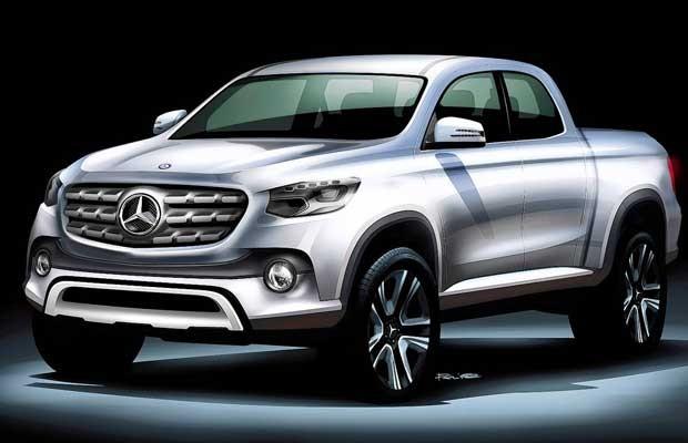 Mercedes vai produzir picape média até 2020 (Foto: Divulgação)