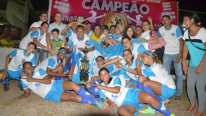 Oratório; Futebol Feminino; Amapá (Foto: Rosivaldo Nascimento/Arquivo Pessoal)