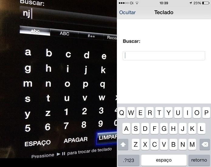 A Apple TV pode ser controlada por um iPhone com o aplicativo Remote (Foto: Reprodução/Edivaldo Brito)