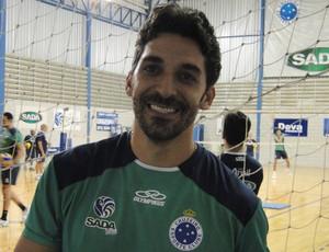 Felipe, atacante do Cruzeiro de vôlei (Foto: Marco Antônio Astoni)