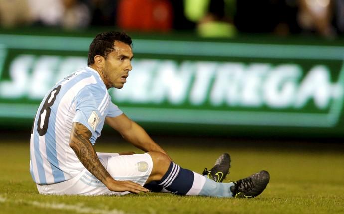 Tevez Argentina (Foto: Reuters)