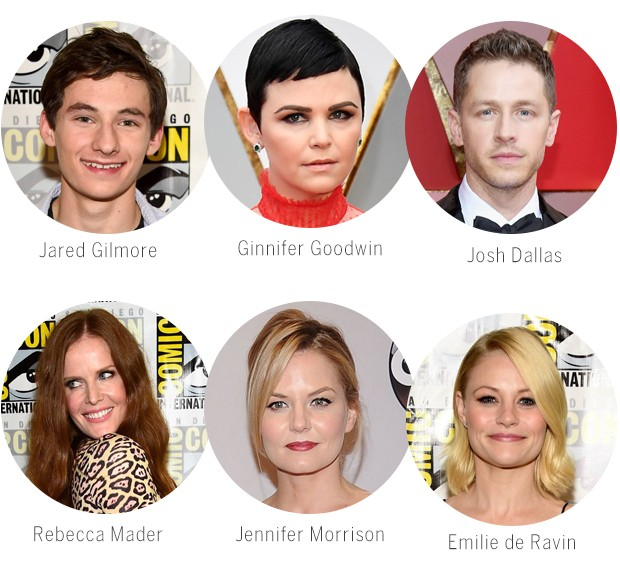 Elenco de Once Upon a Time que deixará a série (Foto: Getty Images)