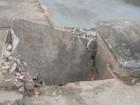 Moradora reclama de bueiros entupidos em São Luiz, interior de RR