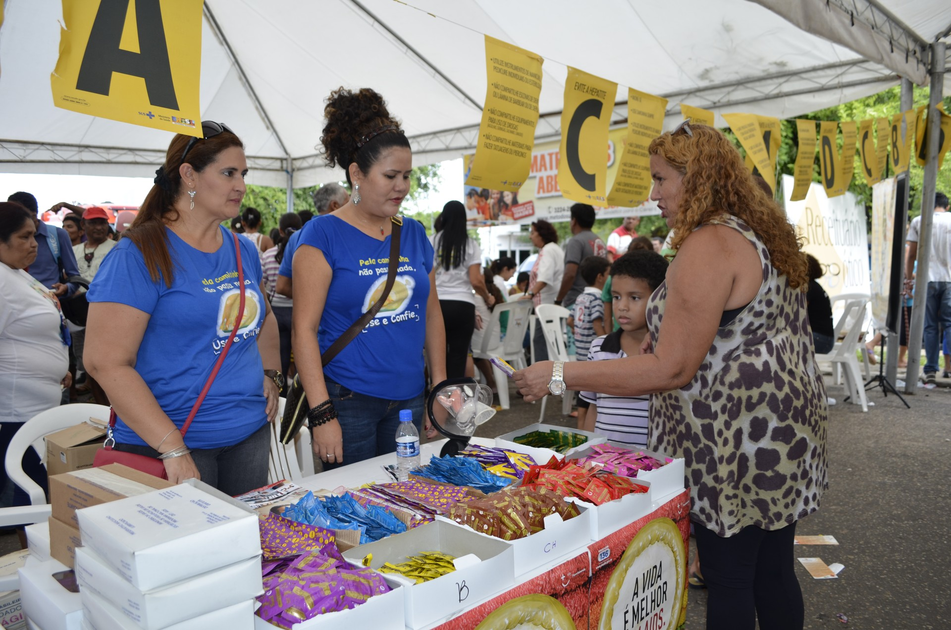 O Saúde de Rua reuniu saúde, esporte, lazer e cultura em Boa Vista (Foto: Valéria Oliveira/ G1 Roraima)