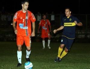 Os Mendes e Ítalo, futebol 7 society (Foto: Divulgação/Fecafss)