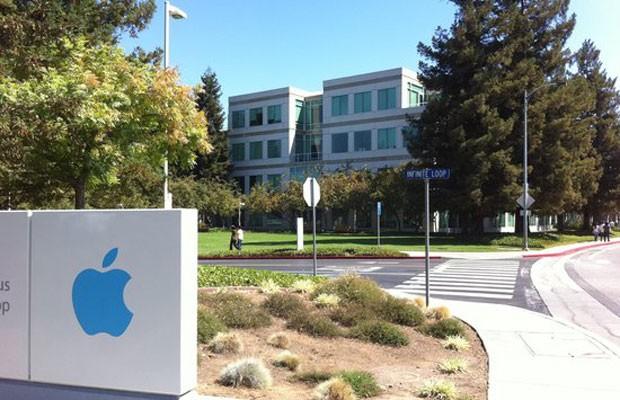 Sede da Apple na Califórnia (EUA). (Foto: Divulgação/Apple)