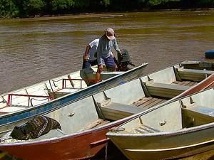 Pesca está liberada no rio a partir desta quarta-feira (1º) (Foto: Ely Venâncio/EPTV)