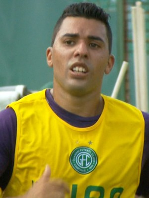 Thiago Marin meia Guarani (Foto: Carlos Velardi / EPTV)