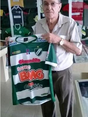 Camisa do Murici Museu dos Esportes (Foto: Divulgação/assessoria)