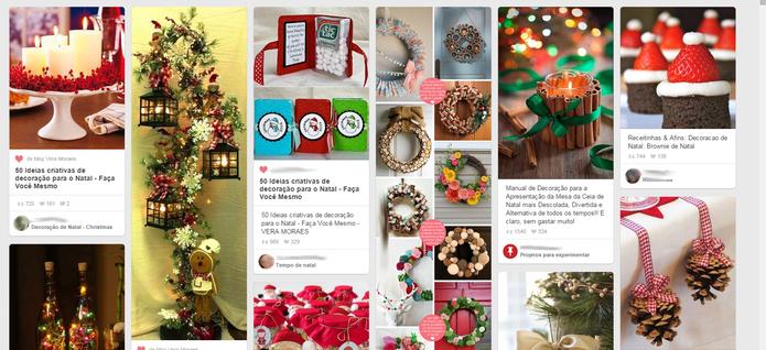 Enid recomenda criar pins temáticos com antecedência (Foto: Reprodução/Pinterest)