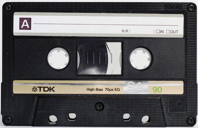 As fitas cassete surgiram em 1963 (Foto: Divulgação/TDK)