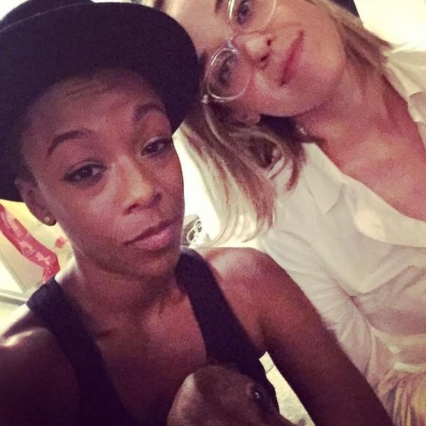 Samira Wiley e Lauren Morelli (Foto: Reprodução/Instagram)