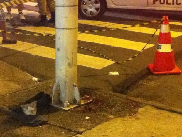Troca de tiros pouco antes do Réveillon deixou feridos em Copacabana (Foto: Daniel Silveira/G1)