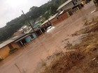 Chuva forte causa alagamentos e deixa desalojados no Oeste de SC