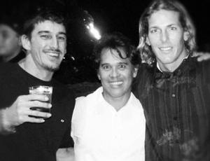 Andy Irons e Dustin Barca (Foto: Reprodução/Instagram)