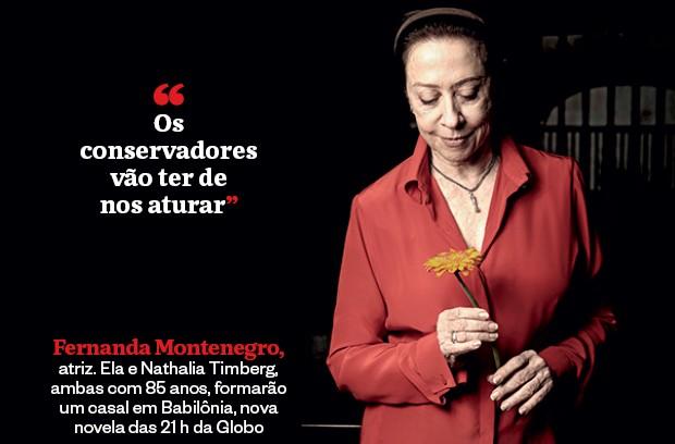 Fernanda Montenegro  (Foto: Daryan Dornelles/Folhapress)
