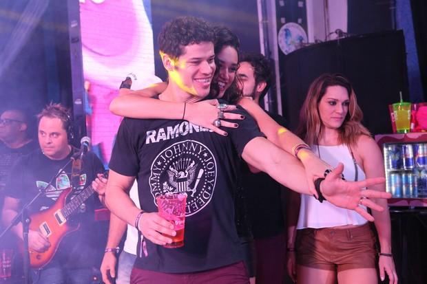 Casal Jose Loreto e Debora Nascimento (Foto: Reginaldo Teixeira/CS Eventos Divulgação)